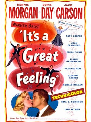 Doris Day, Jack Carson, and Dennis Morgan in It's a Great Feeling (1949)