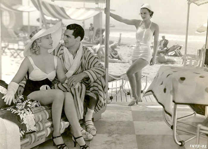 Cary Grant, Helen Mack, and Genevieve Tobin in Kiss and Make-Up (1934)