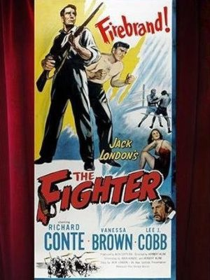 Lee J. Cobb, Richard Conte, and Vanessa Brown in The Fighter (1952)