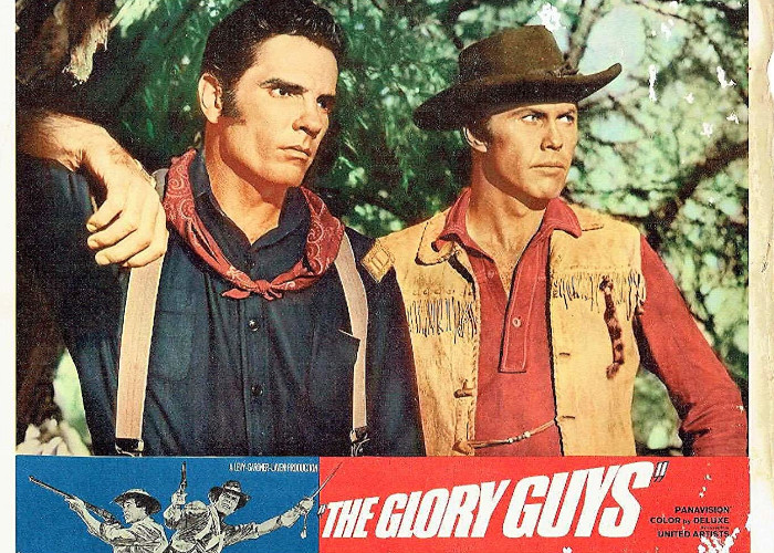 Harve Presnell and Tom Tryon in The Glory Guys (1965)