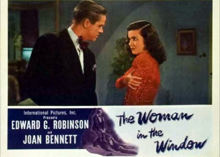 Joan Bennett and Dan Duryea in The Woman in the Window (1944)