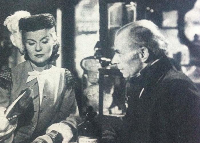 Ann Todd and Ivor Barnard in Madeleine (1950)