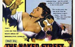 Anthony Quinn and Anne Bancroft in The Naked Street (1955)