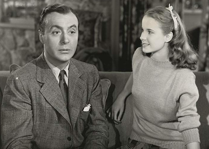 Charles Boyer and Mona Freeman in Together Again (1944)