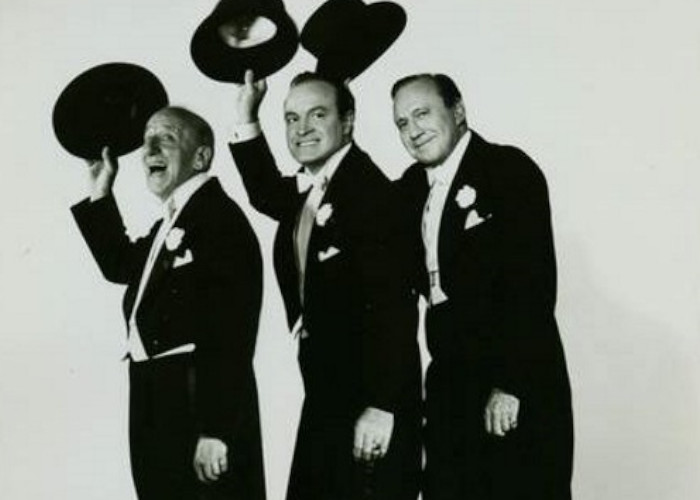 Jack Benny, Bob Hope, and Jimmy Durante in Beau James (1957)