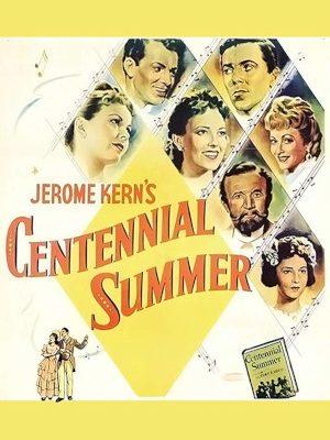 Constance Bennett, Walter Brennan, Linda Darnell, Jeanne Crain, William Eythe, Dorothy Gish, and Cornel Wilde in Centennial Summer (1946)