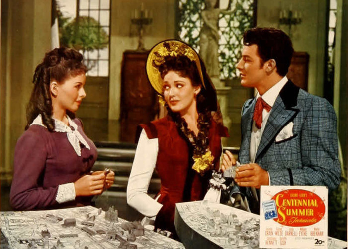 Edit TagsReport This Linda Darnell, Jeanne Crain, and Cornel Wilde in Centennial Summer (1946)