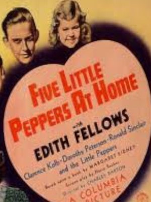 Tommy Bond, Edith Fellows, Bobby Larson, Charles Peck, and Dorothy Anne Seese in Five Little Peppers at Home (1940)