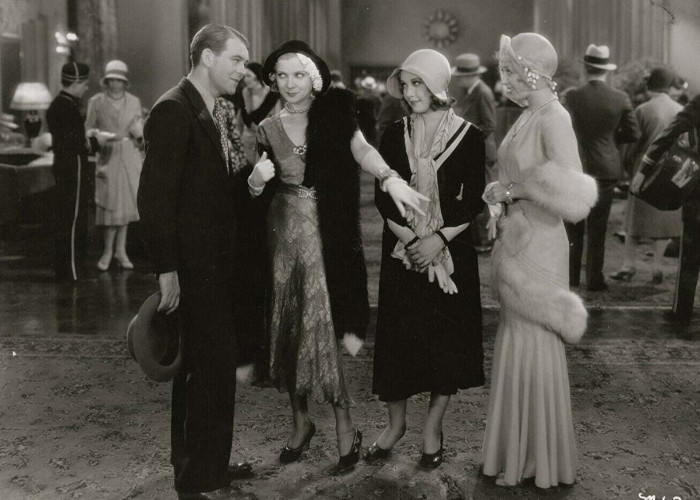Joan Blondell, Robert Ames, Lilyan Tashman, and Helen Twelvetrees in Millie (1931)