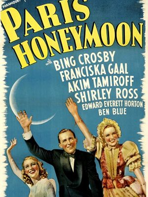 Bing Crosby, Franciska Gaal, and Shirley Ross in Paris Honeymoon (1939)