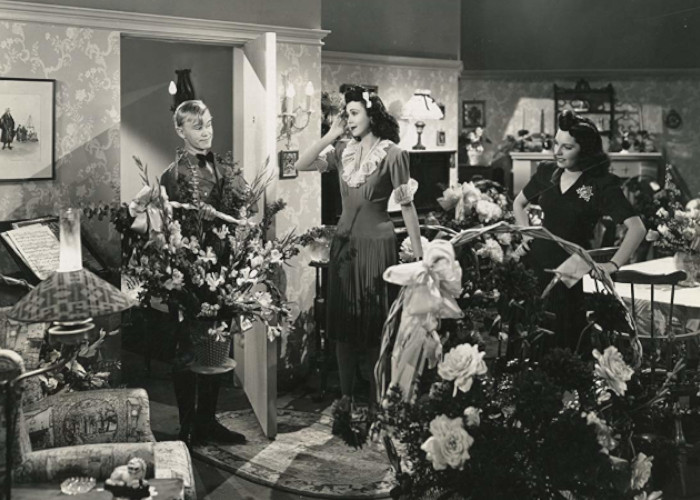 William 'Billy' Benedict, Joan Merrill, and Ann Miller in Time Out for Rhythm (1941)