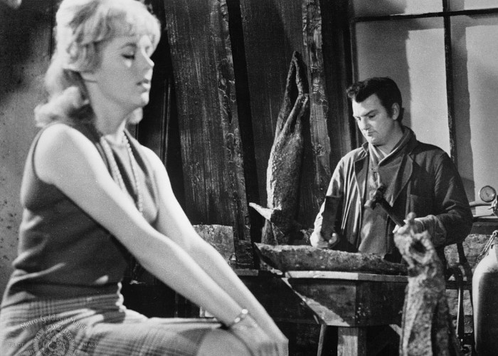 William Campbell and Mary Mitchel in Dementia 13 (1963)