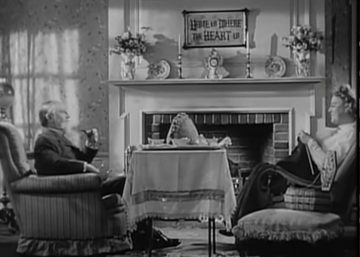 Gracie Fields and Monty Woolley in Holy Matrimony (1943)