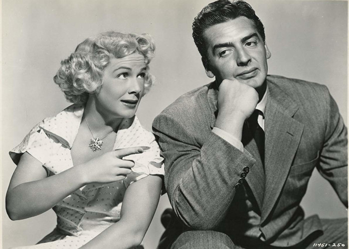 Victor Mature and Betty Hutton in Red, Hot and Blue (1949)