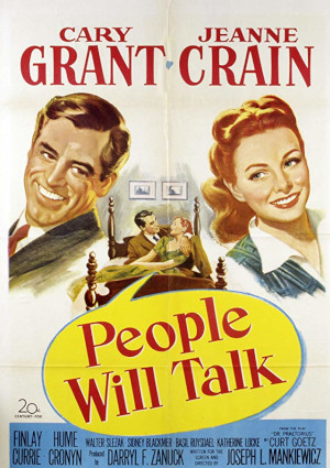 Cary Grant and Jeanne Crain in People Will Talk (1951)