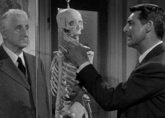 Cary Grant and Finlay Currie in People Will Talk (1951)