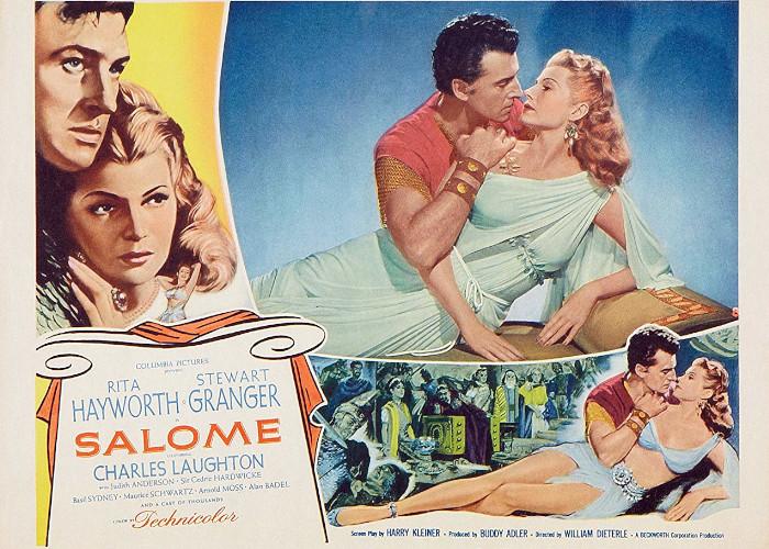 Rita Hayworth and Stewart Granger in Salome (1953)