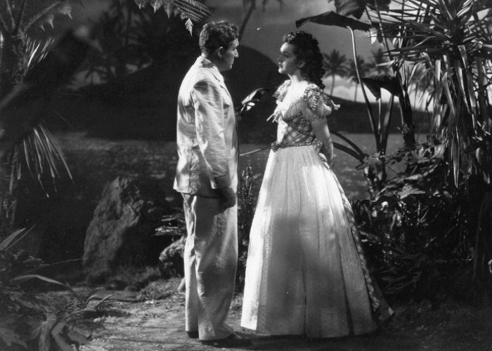 Spencer Tracy and Nancy Kelly in Stanley and Livingstone (1939)