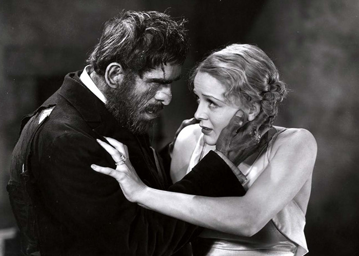 Boris Karloff and Gloria Stuart in The Old Dark House (1932)