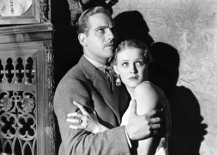 Gloria Stuart and Melvyn Douglas in The Old Dark House (1932)