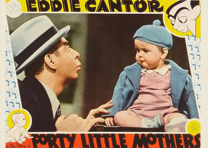 Eddie Cantor and Baby Quintanilla in Forty Little Mothers (1940)