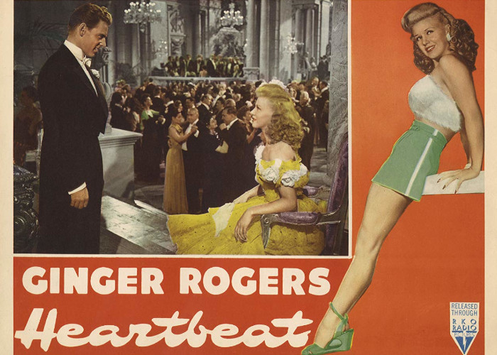 Ginger Rogers and Jean-Pierre Aumont in Heartbeat (1946)
