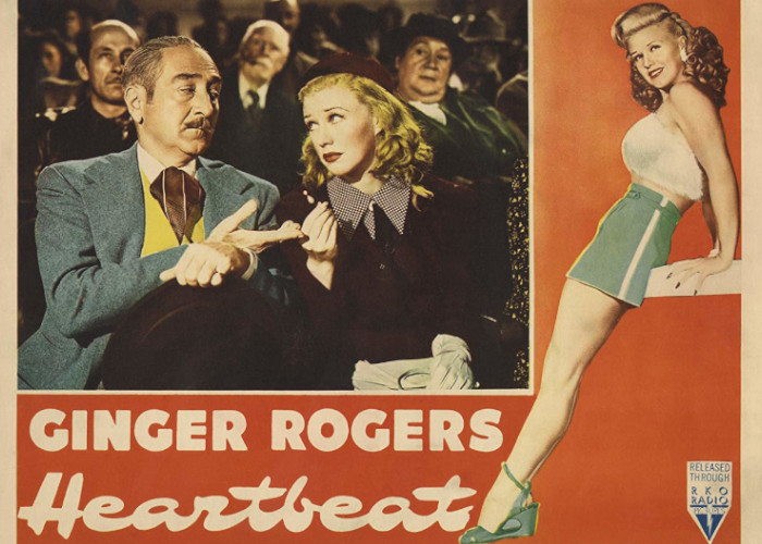 Ginger Rogers and Adolphe Menjou in Heartbeat (1946)