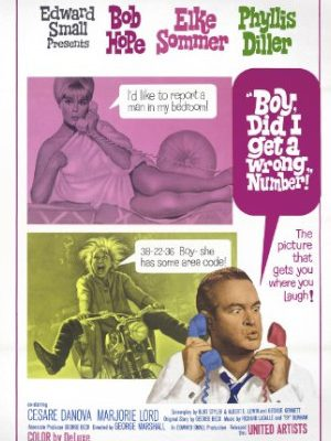 Bob Hope, Phyllis Diller, and Elke Sommer in Boy, Did I Get a Wrong Number! (1966)