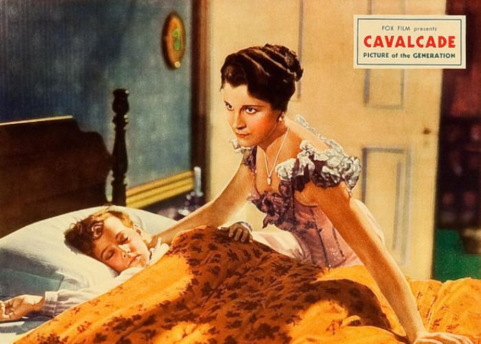 Douglas Scott and Diana Wynyard in Cavalcade (1933)