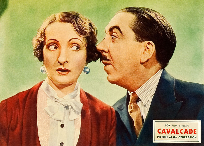Herbert Mundin and Una O'Connor in Cavalcade (1933)