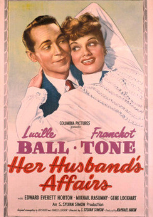 Lucille Ball and Franchot Tone in Her Husband's Affairs (1947)