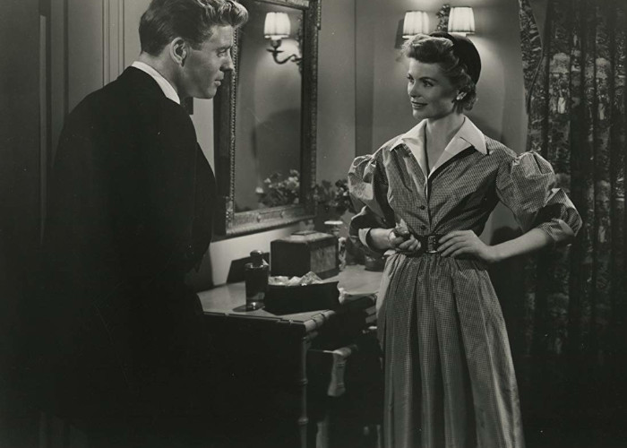 Burt Lancaster and Dorothy McGuire in Mister 880 (1950)