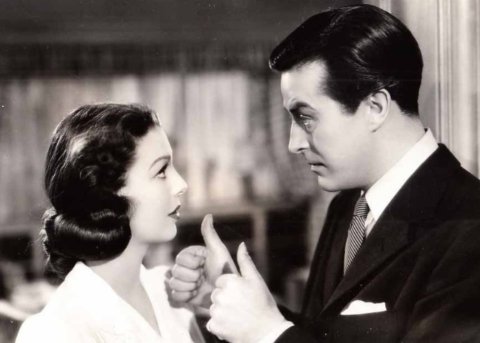 Ray Milland and Loretta Young in The Doctor Takes a Wife (1940)