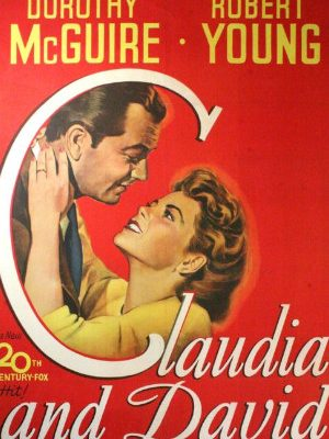 Robert Young and Dorothy McGuire in Claudia and David (1946)