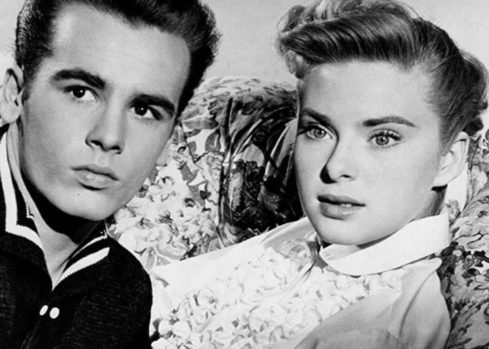 Dean Stockwell and Natalie Trundy in The Careless Years (1957)