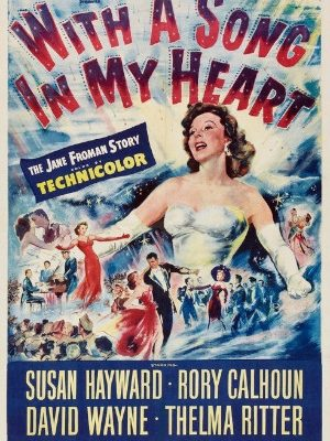 Susan Hayward in With a Song in My Heart (1952)