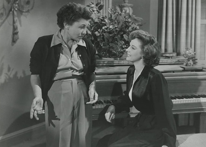 Susan Hayward and Thelma Ritter in With a Song in My Heart (1952)