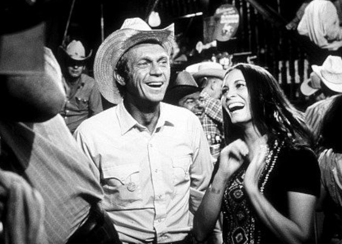 """Junior Bonner"" Steve McQueen, Sandra Deel 1972 ABC / Booth-Gardner"