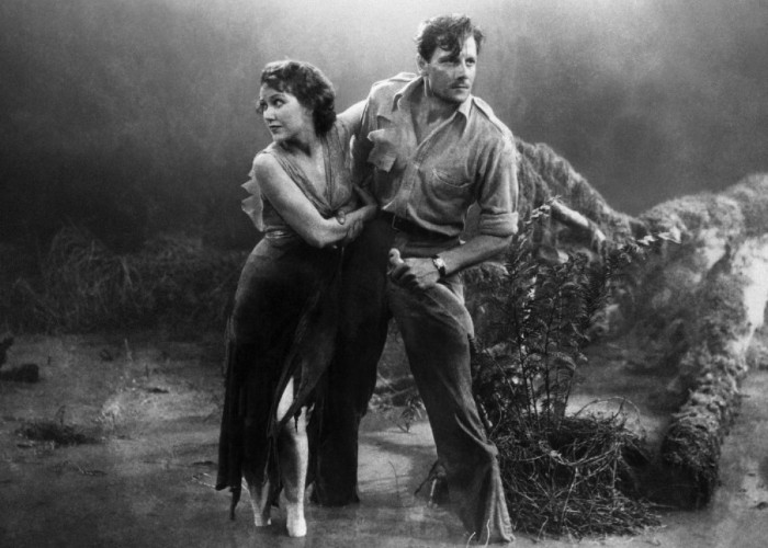 Joel McCrea and Fay Wray in The Most Dangerous Game (1932)