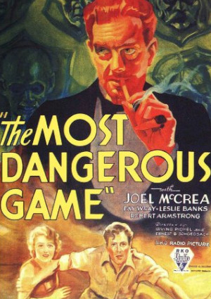 Leslie Banks, Joel McCrea, and Fay Wray in The Most Dangerous Game (1932)