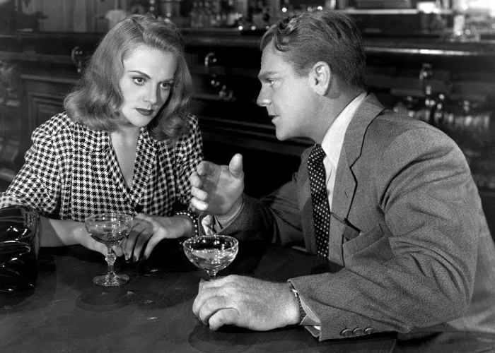 James Cagney and Jeanne Cagney in The Time of Your Life (1948)