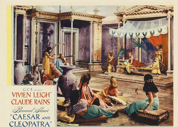 Vivien Leigh, Agnes Bernelle, June Black, Mary Boyle, Bernard Bright, Olga Edwardes, and Harda Swanhilde in Caesar and Cleopatra (1945)