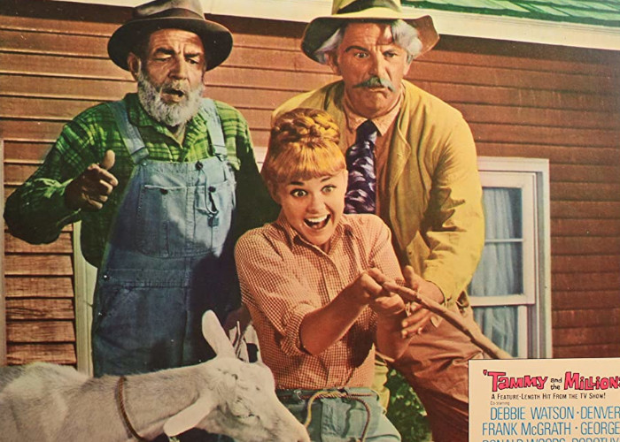 Frank McGrath, Denver Pyle, and Debbie Watson in Tammy and the Millionaire (1967)