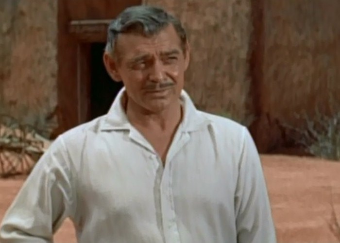 Clark Gable in The King and Four Queens (1956)