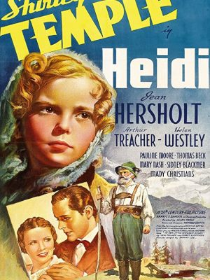 Shirley Temple, Thomas Beck, Jean Hersholt, and Helen Westley in Heidi (1937)