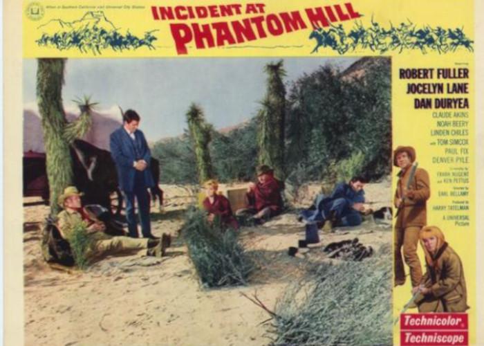Dan Duryea, Claude Akins, Robert Fuller, and Jocelyn Lane in Incident at Phantom Hill (1966)