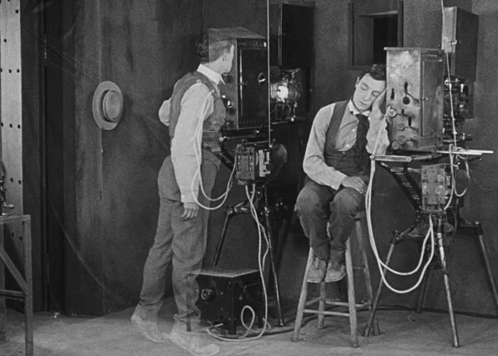 Buster Keaton in Sherlock Jr. (1924)