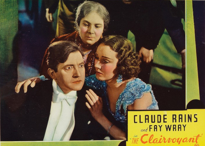 Claude Rains, Mary Clare, and Fay Wray in The Clairvoyant (1935)