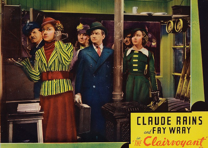 Claude Rains, Jane Baxter, and Fay Wray in The Clairvoyant (1935)