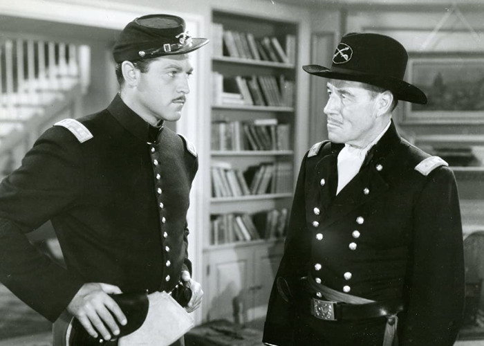 Alan Curtis and Jack Holt in Renegade Girl (1946)